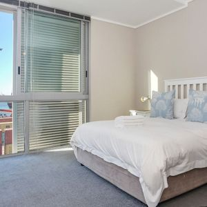 Master bedroom & view; 317 HARBOUR BRIDGE - Foreshore