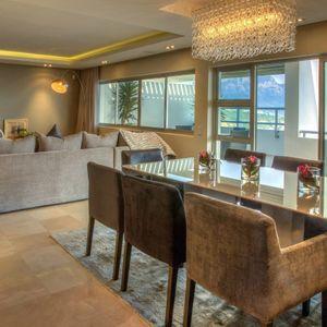 Dining area; SKYFALL - Clifton