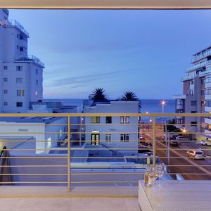 Balcony front view; 204 FAIRMONT - Sea Point