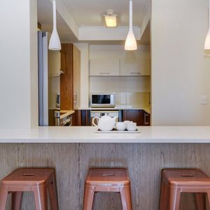 Kitchen seating; 507 CANAL QUAYS - Foreshore