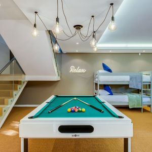 Games Room with Pool Table; danielle Perold - Camps Bay