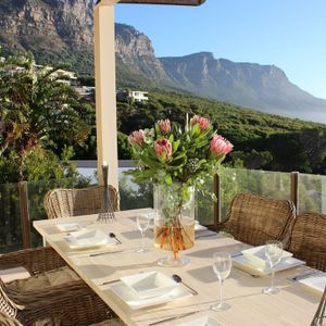 Outdoor dining; OUDERKRAAL PLACE - Camps Bay