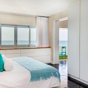 Master Bedroom & Views: BONDI BLU - Mouille Point