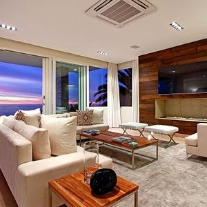 Formal living area & view; ANDARA - Camps Bay