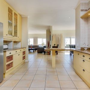 Kitchen & living area; 100 ON GENEVA - Camps Bay