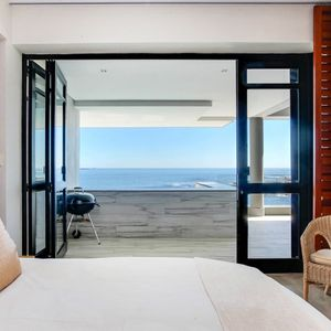 Master bedroom & View; BALI SUITE - Camps Bay