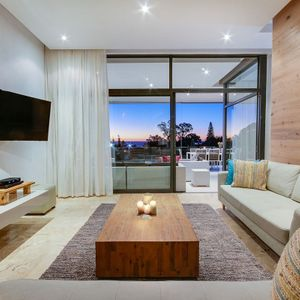 Lounge with TV; MARBLEWOOD - Camps Bay