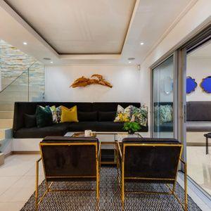 Lounge; MOUNTAIN VIEW VILLA - Camps Bay
