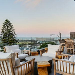 Outdoor lounge; 129 OCEAN VIEW PENTHOUSE - Green Point