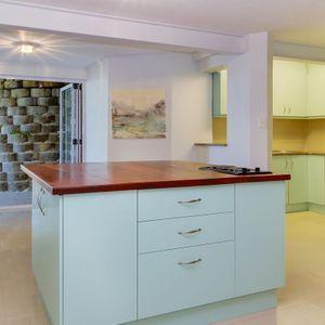 Downstairs Kitchen; CABANA BAY - Llandudno