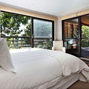 Master bedroom & juliette balcony; GENEVA MIDDLE - Camps Bay