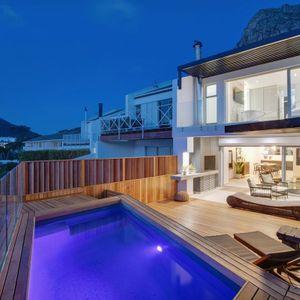 Exterior & Pool deck; MOUNTAIN VIEW VILLA - Camps Bay