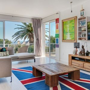 Living area with view; VILLA 13 - Camps Bay