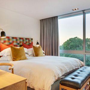 Fourth bedroom; 2 on HILDENE - Tamboerskloof