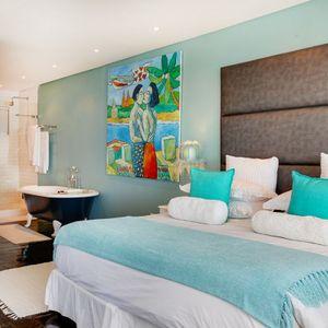 Master Bedroom: BONDI BLU - Mouille Point