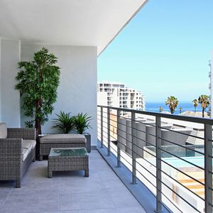 Balcony & outdoor seating; FAIRMONT 303 - Sea Point