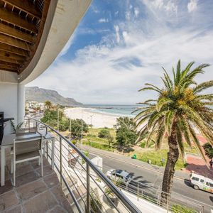 Balcony & views; SEASONS 1 BEDROOM - Camps Bay
