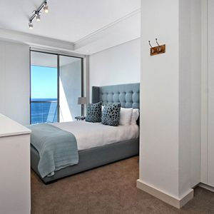 Master Bedroom Full View; FAIRMONT 1001 - Sea Point