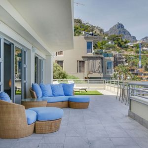 Outdoor lounge; CLIFTON PENTHOUSE - Clifton