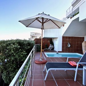 Balcony & Pool; TERRACE SUITE - Camps Bay