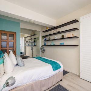 Second bedroom; OCEAN JAZZ -Camps Bay