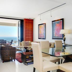 Dining area; BALI SUITE - Camps Bay