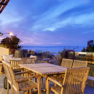 Outdoor dining; 129 OCEAN VIEW PENTHOUSE - Green Point
