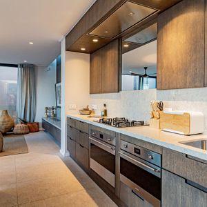 Open Plan Kitchen; 53 Napier - De Waterkant