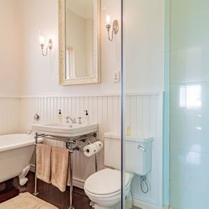 Bathroom with bath; SELBOURNE - Sea Point