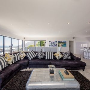 Living room; SUNSET BLISS - Camps Bay