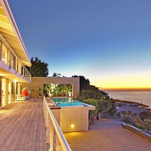 Outdoor balcony; FALCON VIEWS - Camps Bay