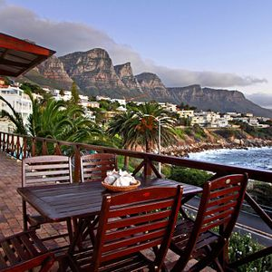 Balcony & View; CAMPS BAY TERRACE -  Camps Bay