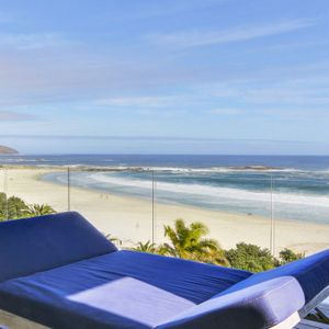 Ocean view from balcony; VIEWS PENTHOUSE - Camps Bay