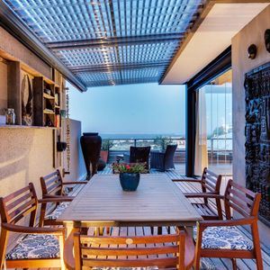 Outdoor dining; OCEAN VIEW TREASURE-Sea Point