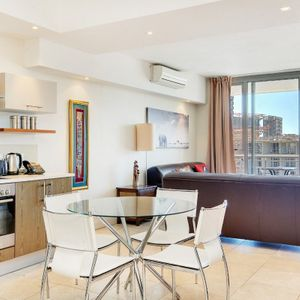 Living and Dining table; 706 CANAL QUAYS - Foreshore