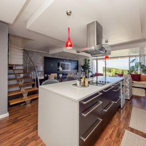 Open plan kitchen; OCEAN JAZZ -Camps Bay