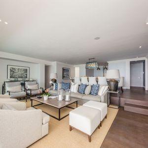 Living room; VICTORIA APARTMENT - Camps Bay