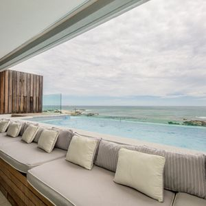 Pool & Seating; VICTORIA APARTMENT - Camps Bay