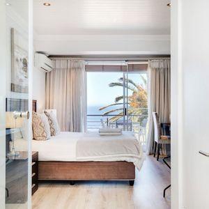 Master bedroom; SEASONS 1 BEDROOM - Camps Bay