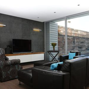 TV Living area; 3 BAY BEACH - Camps Bay
