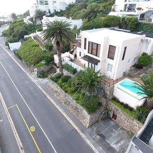 Drone Image of road; TERRACE LODGE - Camps Bay