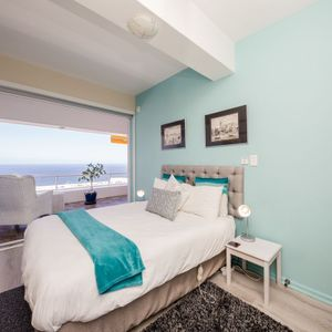 Second bedroom with a view; OCEAN JAZZ -Camps Bay