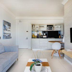 Open plan living space; SEASONS 1 BEDROOM - Camps Bay