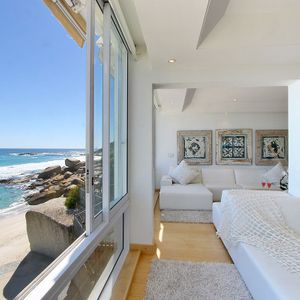 Living area & beach view; CLIFTON BELLE - Clifton