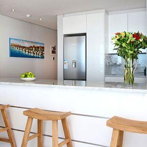 Kitchen side view; FAIRMONT 1001 - Sea Point