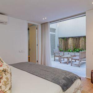 Third Bedroom Courtyard; 100 Geneva - Camps Bay