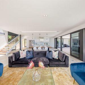 Living room; VILLA VIEWS - Camps Bay