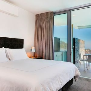Master bedroom & Views; 21 CENTRAL DRIVE - Camps Bay