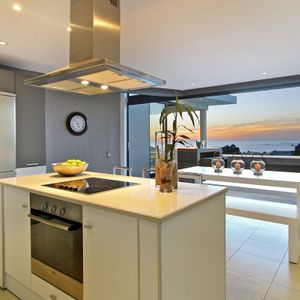 Kitchen with views; THE LOOK OUT - Camps Bay