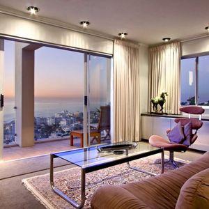 Bedroom lounge view